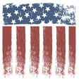 usa stripe flag design vector image