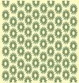 vintage flower pattern vector image vector image