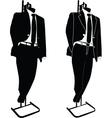 business suit - vector image
