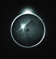 background of the eclipse vector image