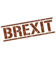 brexit stamp vector image