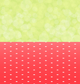 green background boken and red tablecloth with vector image
