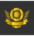 Moto wheel Logo Symbol vector image vector image