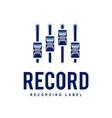 Record Logo vector image