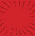 red thunder theme background vector image vector image