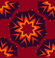 seamless abstract pattern for childs clothes red vector image vector image