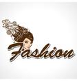 Stylish Fashion Text vector image