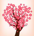 Cherry blossom 1 vector image