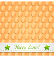 Abstract easter eggs design vector image