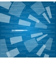 abstract texture with rectangles vector image vector image