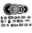 ADB Circle Elements 1 vector image