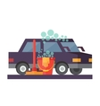 Car service Hand wash and transport cleaning vector image vector image