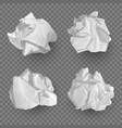 crumpled paper balls realistic garbage bad idea