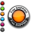 Free shipping button vector | Price: 1 Credit (USD $1)