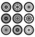 gears vector image vector image