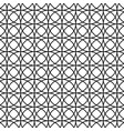 seamless abstract pattern with circles vector image