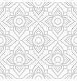 thai flowers seamless pattern grey floral vector image vector image