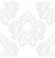 Baroque Damask ornament pattern vector image