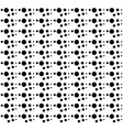 abstract seamless pattern black dots on a vector image