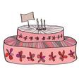 Bitrhday Cake vector image
