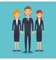 Business people characters icon