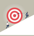 business target concept vector image