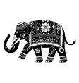 Indian elephant vector image vector image