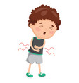 of child diseases vector image