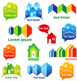 RealEstateIcons vector image vector image