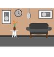 relaxing room vector image