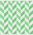 seamless old green chevron pattern on paper vector image