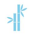 spa bamboo symbol vector image