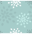 Stylized flower seamless pattern vector image vector image