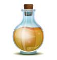 vinegar flask icon cartoon style vector image