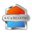 air conditioning heating and cooling design vector image vector image