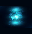 best internet concept of global business globe vector image vector image