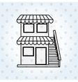 building front design vector image vector image
