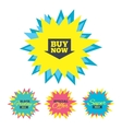 Buy now sign icon Online buying arrow button vector image vector image