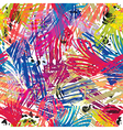 color paints seamless pattern vector image