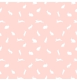 cute rabbit seamless pattern on pink vector image vector image