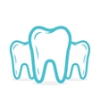 dental or tooth logo Tooth icon vector image vector image