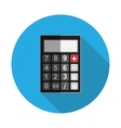 Flat Design Concept Calculator vector image vector image