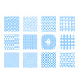 geometric seamless background frames borders vector image
