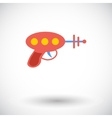Gun toy icon vector image