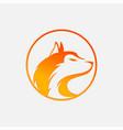 image a fox design vector image