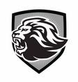 lion roar logo mascot design vector image vector image