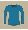 Long Sleeves Shirt vector image vector image