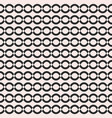 seamless pattern simple geometric texture chains vector image vector image