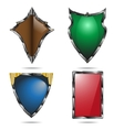 Shield set vector image