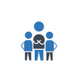 teamwork icon sign symbol vector image vector image